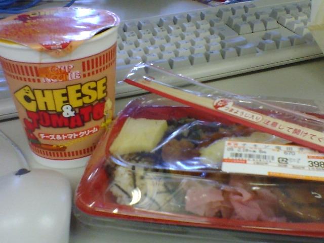 電算機屋の昼食20090218